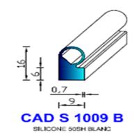 CADS1009B Silicone Compact   50 SH Blanc