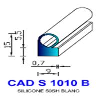 CADS1010B Silicone Compact   50 SH Blanc