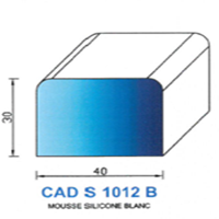 CADS1012B Silicone Cellulaire   Blanc