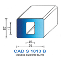 CADS1013B Silicone Cellulaire   Blanc