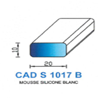 CADS1017B Silicone Cellulaire <br /> Blanc<br />