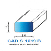 CADS1019B Silicone Cellulaire <br /> Blanc<br />