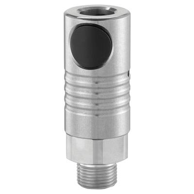 Raccord Métallique de Sécurité CSM [Ø 8 mm]   Fileté Cylindrique Mâle   [G 1/2]