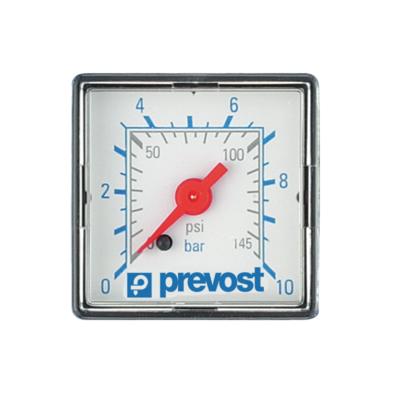 Manomètre carré   [40 x 40 mm]