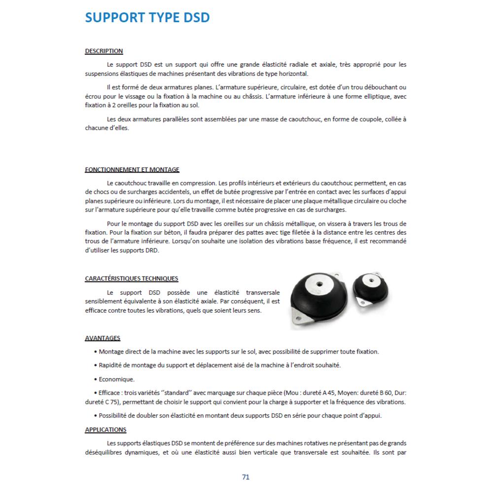 Plot Antivibratoire DSD