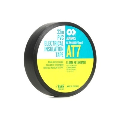 Ruban Adhésif PVC Plastifié Noir