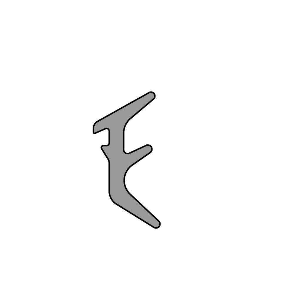 Joint de Calage EPDM   Jeu 3 mm   Vendu au Mètre