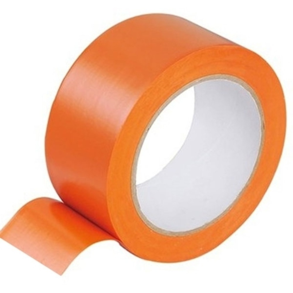 Ruban Adhésif PVC Orange   [50 mm x 33 ML]