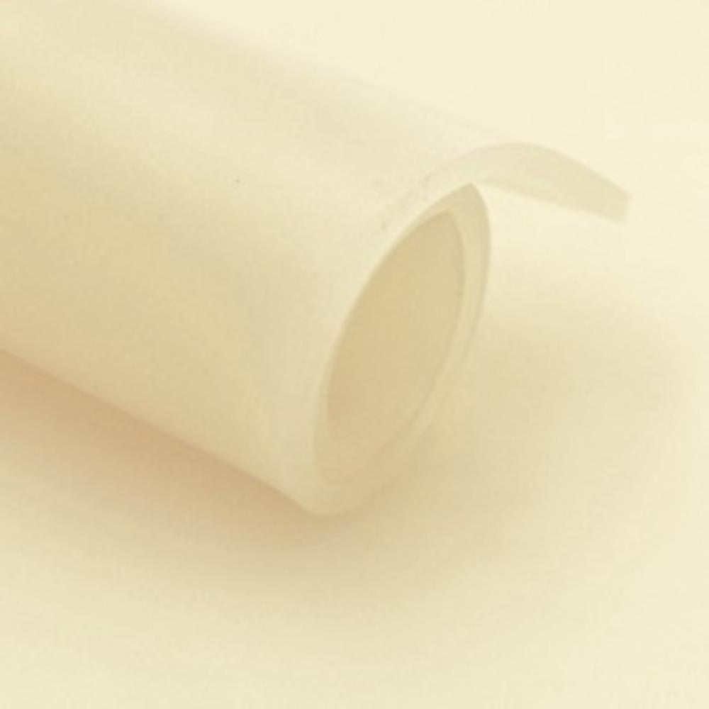 Feuille SILICONE Translucide   [EP 2 mm]   1 Mètre Linéaire = 1,2 m²
